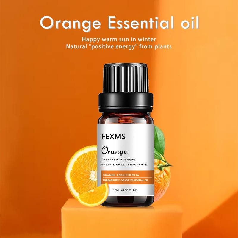 Handcraft Sweet Orange Essential Oil - 100% Pure and Natural - Premium Therapeutic Grade with Premium Glass Dropper