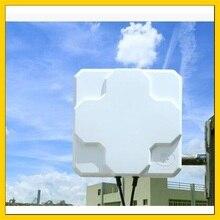 2 * 22dBi في الهواء الطلق 4G LTE MIMO هوائيات لوحة الاستقطاب المزدوج هوائي SMA ذكر موصل 5 متر كابل علامة هواوي 4G راوتر