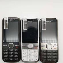C5-00i телефон разблокированный Nokia C5 C5-00 сотовые телефоны GSM 3g 3Mp камера FM gps Bluetooth отремонтированный