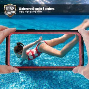 Image 2 - SHELLBOX מקרה עמיד למים עבור iPhone 11 פרו מקסימום 360 מגן כיסוי עמיד הלם שחייה צלילה Coque עבור iPhone11 מתחת למים מקרה