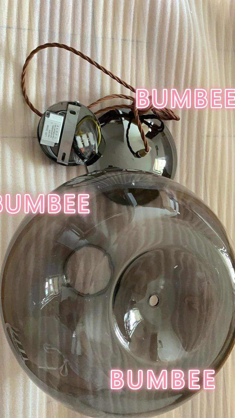 Suspension noeud BROKIS scandinave chevet Luminaire nordique Lustre en verre déco Luminaire Suspendu - 6