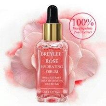 Розовая Сыворотка для лица сужающая поры лечение для устранения акне 17 мл жидкая увлажняющая эссенция для лица осветляющая отбеливающая лифтинг уход за кожей