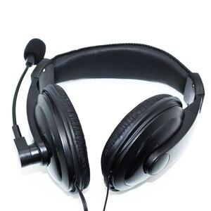 Image 2 - 3.5mm Wired אוזניות עם מיקרופון עסקים אוזניות מיקרופון אוזניות עבור מחשב PC משחקי סטריאו סקייפ NC99