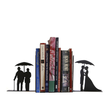 Valentines Gift Bookends Romantic Life Metal Bookend as Home Deocraive Book Stand