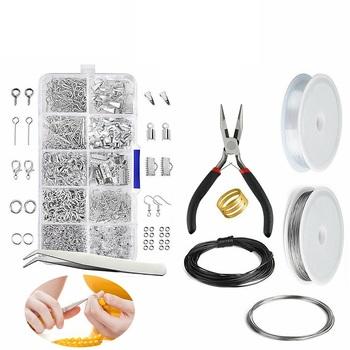 Nowe elementy do wyrobu biżuterii DIY zestaw drut srebrny Sterling frezowanie narzędzia do naprawy zapasy rzemieślnicze DTY do naprawy biżuterii i frezowania tanie i dobre opinie