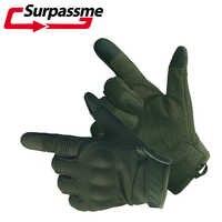 Outdoor Motorrad Handschuhe Sommer Atmungs Flexible Touchscreen Harte Knuckle Volle Finger Motorrad Motocross Reiten Handschuhe ATV