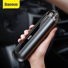 BASEUS – Mini aspirateur portatif de voiture automatique et sans fil, tient dans la main, puissance d'aspiration de 5000 Pa, pour le nettoyage de la maison et du bureau