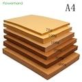 70-400gsm Gut Verpackt Hohe Qualität A4 Fest Kraft Papier DIY Handmake Karte, Der Handwerk Papier Dicke Pappe karton