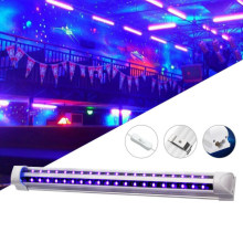 Aluminum+Transparent PC Cover 40 LEDs 5V 10W UV Ultraviolet Strip Tube Light Bar USB Partys Lamp Blacklight(China)