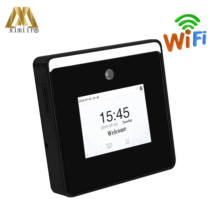 New Arrival ZK Dynamic Face Time Attendance 2.8inch Touch Screen Linux Attendance Device Speedface-H1 With WIFI Time Clock