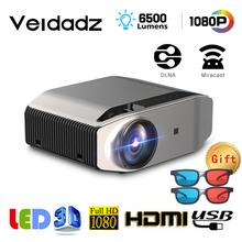 Projektor LED VEIDADZ YG620 1920x1080P 6500 lumenów projektor wideo 3D YG621 bezprzewodowy WiFi wieloekranowy wbudowany głośnik tanie tanio Instrukcja Korekta Mini Ue wtyczka Us wtyczka Au plug Wtyczka uk 4 3 16 9 140W Focus System multimedialny 1920x1080 dpi