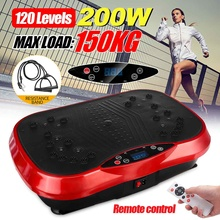110/220V Exercise Fitness Slim Vibration Machine Body Trainer Plate Platformody Shaper