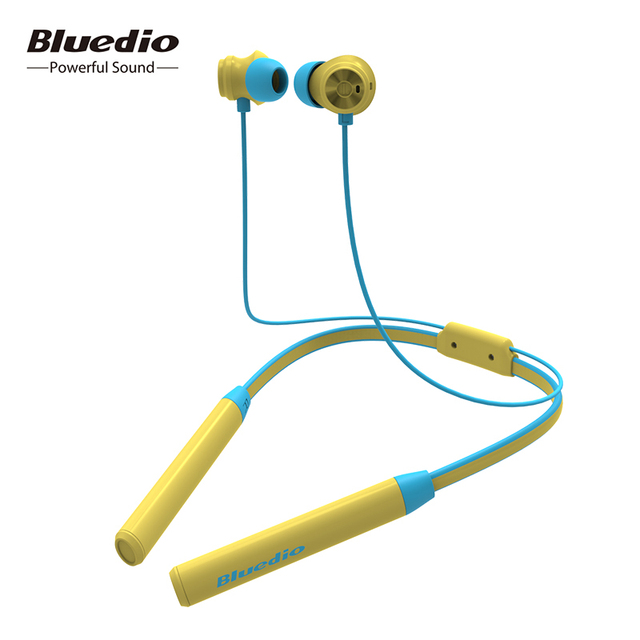 Bluedio TN2 wireless Bluetooth sport earphone active noise cancelling Wireless Headset for phones and music