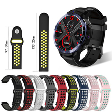 Silicone Replacement Watchband For LEMFO LEM12 Smartwatch Watchbands Accessories LEM 12 Wrist Band Strap Silicone Double Color