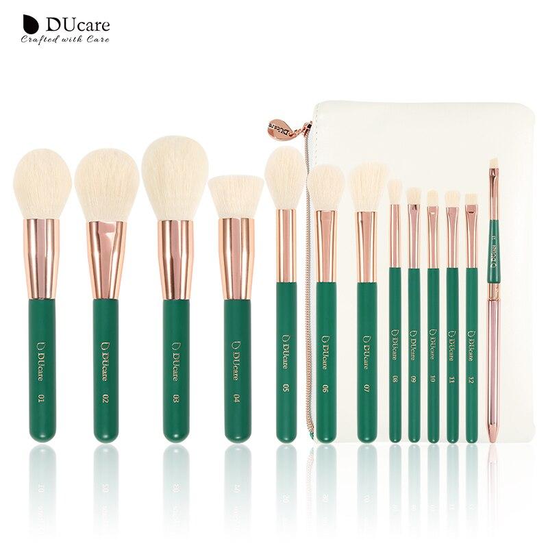 DUcare 13Pieces Makeup Brushes Set Eye Shadow Foundation Powder Eyeliner Eyelash Lip Make Up Brush Cosmetic Beauty Tool Kit HotEye Shadow Applicator   -