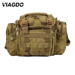 Image 1 - 15L 다기능 군사 전술 숄더 가방 600d 옥스포드 메신저 가방 야외 등산 사냥 하이킹 낚시 여행 포켓
