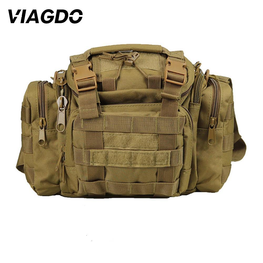 15L Multifunction Military Tactical Shoulder Bag 600D Oxford Messenger Bag Outdoor Climbing Hunting Hiking Fishing Travel Pocket