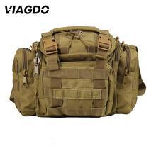 Bolso de hombro táctico militar multifunción de 15L, bolsa de mensajero Oxford 600D, para exteriores, escalada, caza, senderismo, pesca, bolsillo de viaje
