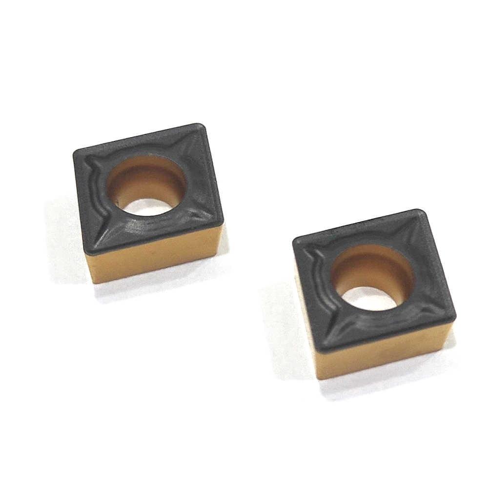 10pcs CCMT060204 TM PC4225 Strumento Tornitura Interna CCMT21.51 Inserti In Metallo Duro per Tornio Taglierina Strumento di Tornitura Inserto Utensili Da Taglio
