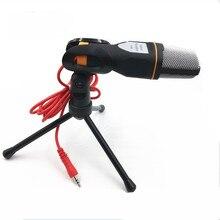 Bundwin yüksek kaliteli SF 666 el mikrofonu ses stüdyo mikrofonu bilgisayar için mikrofon sohbet PC Laptop Skype MSN hediyeler