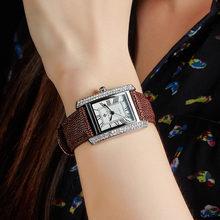 Часы наручные wwoor женские кварцевые брендовые Роскошные квадратные