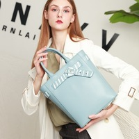 Bag Female 2020 New Leather Handbags Shoulder Bag Fashion European and American Style Cowhide Hand Bag Tide Bag BA010