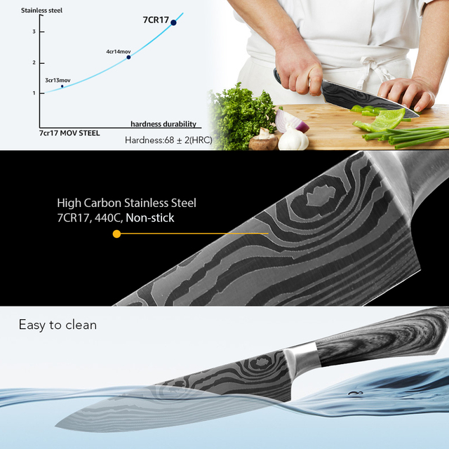 Kitchen Knife 5 7 8...
