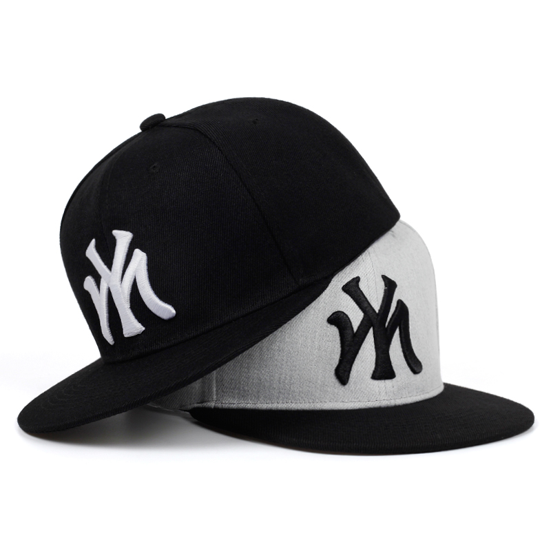 2019 New High Quality MY Embroidery Baseball Cap Men Women Bone Trucker Hats Fashion Cotton Snapback Hiphop Caps Hip Hop Hat