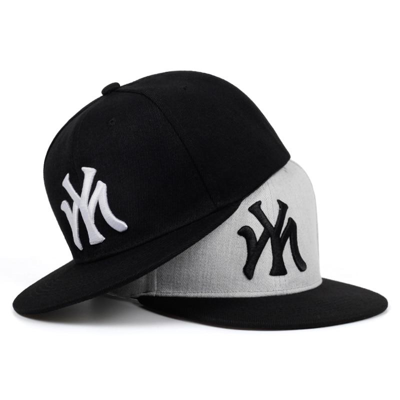 2019 New High Quality MY Embroidery Baseball Cap Men Women Bone Trucker Hats Fashion Cotton Snapback Hiphop Caps Hip Hop Hat