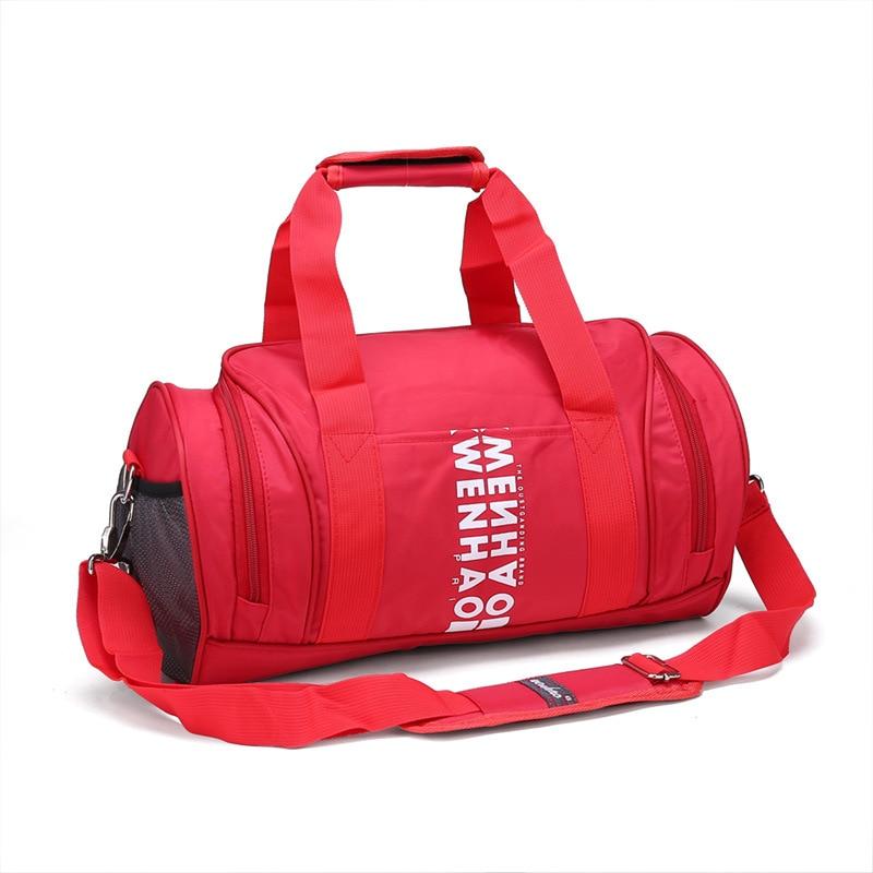 2019 marque de haute qualité en Nylon étanche sac de Sport hommes femmes pour Gym Fitness en plein air voyage Sports entraînement Messenger sacs