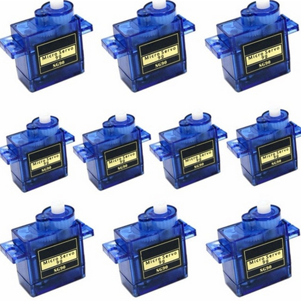 High quality 5/10pcs/lot 100% NEW Wholesale SG90 9G <font><b>Micro</b></font> <font><b>Servo</b></font> <font><b>Motor</b></font> For Robot 6CH RC Helicopter Airplane Controls for Arduino image