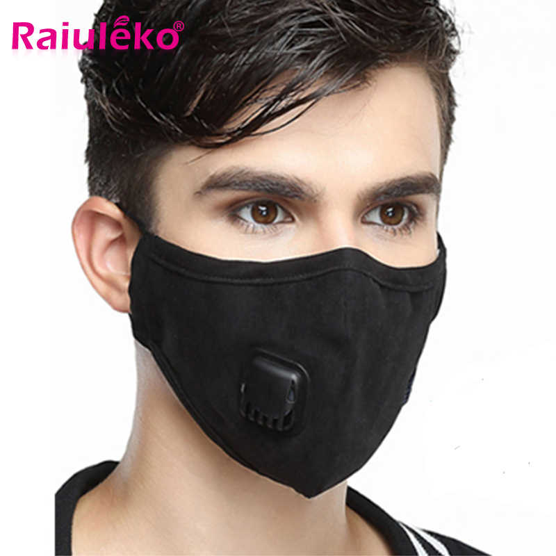 With Carbon - Winter Mouth Dust Aliexpress Valves Cotton Filter Flu Medical Mask Anti 5 Sheet Face And Running Pm2