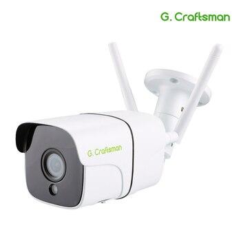 Wifi Della Macchina Fotografica 1080P 5MP Audio Senza Fili Esterna Impermeabile HD IP Telecamera di Sicurezza Video di Sorveglianza SONY 307 335 ONVIF2.4 Camhi