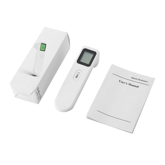 2020 Infrared Thermometer Forehead Body Non-Contact Thermometer Baby Adults Digital Thermometer Building Automation