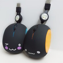 Gaming Computer Laptop Wired Mouse Small Macbook Girl Wholesale Cute USB Mini for Creative