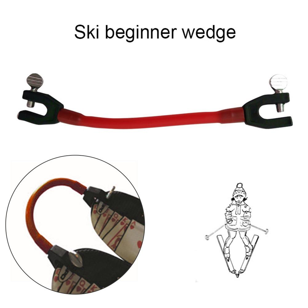 Ski Tip Connector Outdoor Training Sports Elasticity Tip Connector Fixer Winter Easy Wedge Control Speed Protection For Beginner
