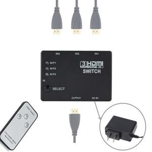 Image 4 - Grwibeou 3 ב 1 מתוך Switcher 3 נמל Hub תיבת אוטומטי מתג 3x1 HDMI ספליטר 1080p HD 1.4 עם שלט רחוק עבור HDTV XBOX360 PS3