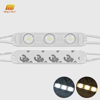 3leds Module lamp 220V IP65 LED Strip light DIY Cutable 2835 Warm Cold White Christmas Decor Living Room Professional Wall Light 1
