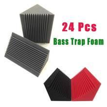 Wedge Corner-Bass-Trap Acoustic Foam Soundproof Tiles Sound-Treatment Studio BEIYIN 24pcs