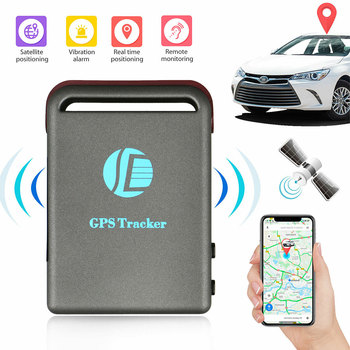 Mini Vehicle GSM GPRS GPS Trackers or Car Vehicle Tracking Locator Device TK102B Professional Car Accessories image