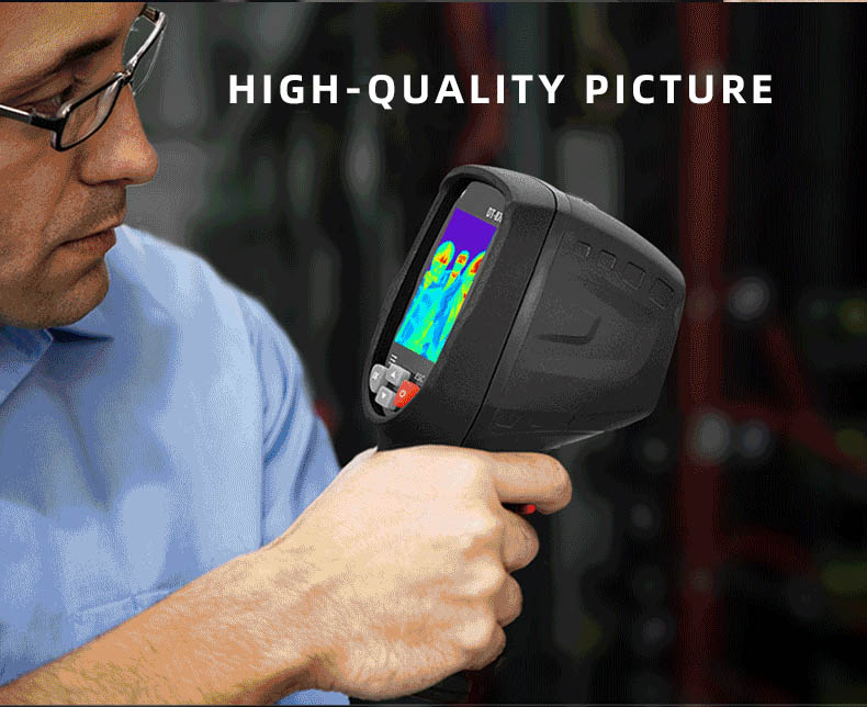 Infrared Thermal Camera With Live Streaming to Computer or TV Bluetooth For Human Body 25