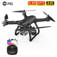 Holy Stone HS700D GPS Dron 4K profesional sin escobillas 5G 800M WIFI FPV drone con cámara HD 2K RC Drone 1km 22 minutos Quadcopter
