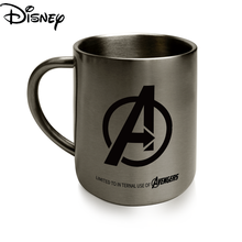 Disney Ceramic Cute Cartoon Stainless Steel Water Cup Simple Large-capacity Mug Coffee Cup Milk Cup Collection Cup