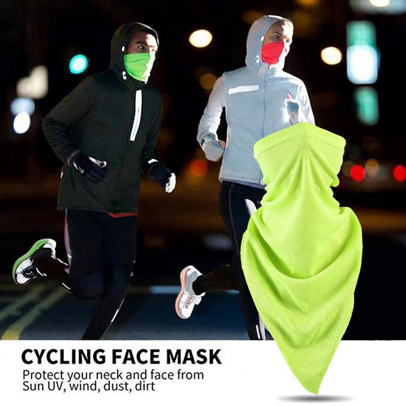 Human - 2pcs Scarf Protection UV Sun Breathable Face Scarves Headwear Gaiter Tube Balaclava Headscarf