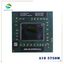 AMD מחשב נייד A10 5700M סדרת A10 5750M A10 5750m AM5750DEC44HL שקע FS1 מעבד 4M Cache/2.5GHz/Quad Core מעבד GM45/PM45