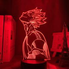 Светильник в стиле аниме haikyu bokuto 3d светильник для спальни