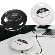 Portable CD Player with Bluetooth Walk man Player with LCD Display Audio 3.5mm Jack for Gift