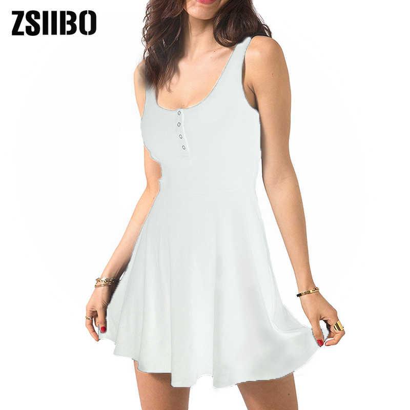 섹시한 검은 여름 옷 붕대 Bodycon 미니 탱크 드레스 높은 허리 슬림 솔리드 맞는 플레어 스케이팅 캐주얼 드레스 여성 클럽 Clothin
