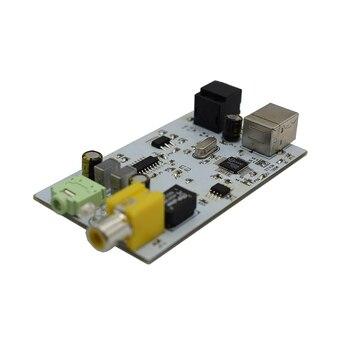 Lusya ESS9023 USB DAC Décodeur OTG Externe Carte Audio Ampli USB à Fibre Optique Coaxial 24BIT-96K G5-006
