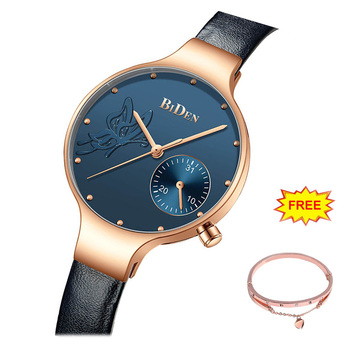 NEW Ladies Watches Luxury watch Fashion Female Quartz Wrist Watch women Leather Waterproof Clock Wife lover
